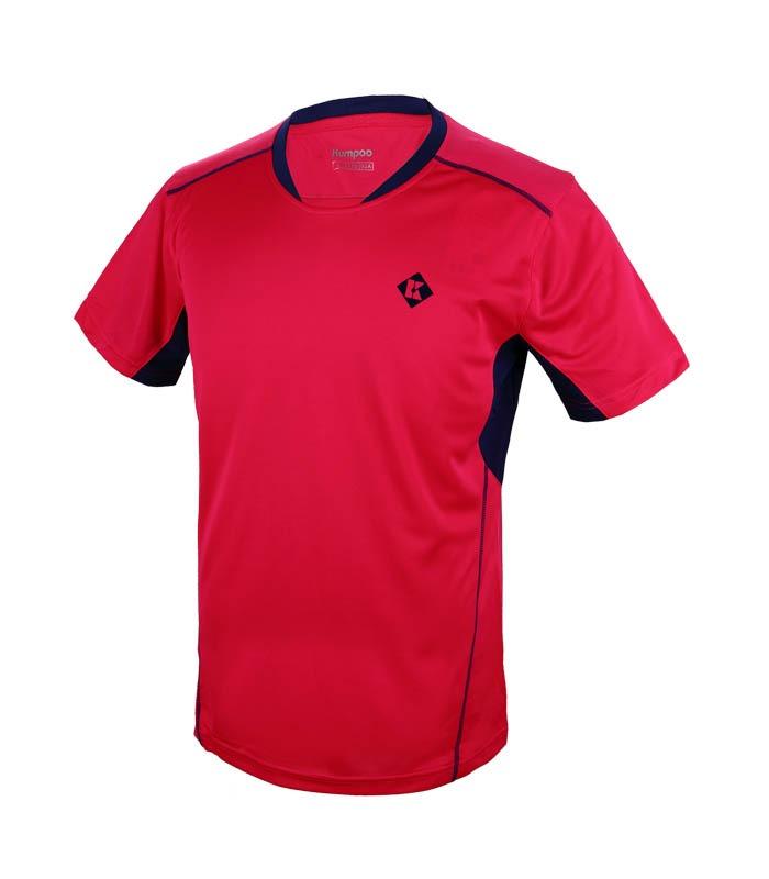 Αθλητικό Ανδρικό Μπλουζάκι Kumpoo KW-7106 Ροζ