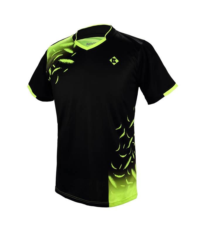 Αθλητικό Ανδρικό Μπλουζάκι Kumpoo KW-7103 Μαύρο