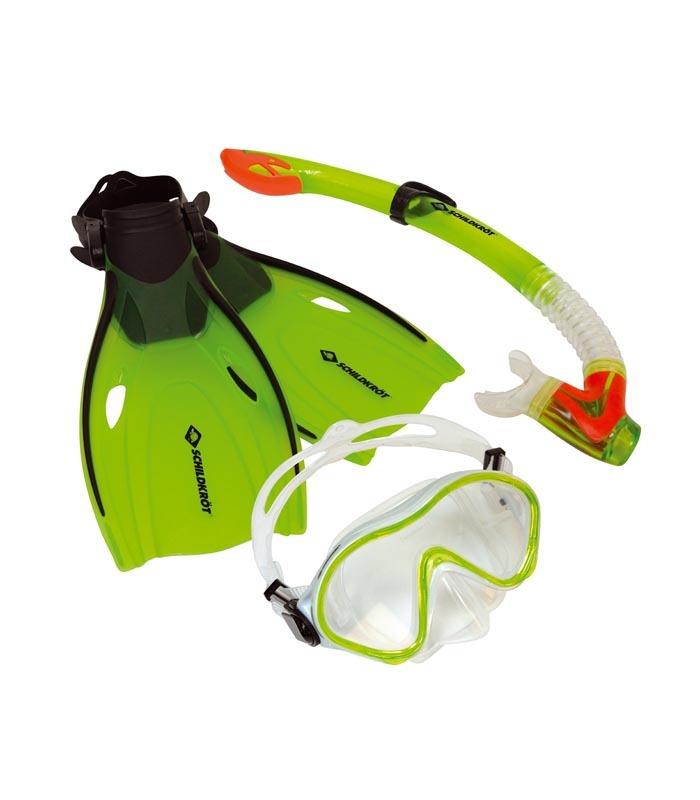 "SCHILDKROT Παιδικό Σετ Μάσκα - Αναπνευστήρα - Πέδιλα ""BERMUDA"""