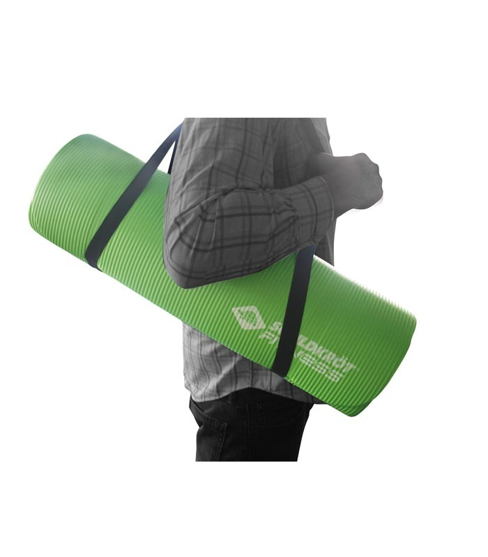 Στρώμα Γυμναστικής Mat Πράσινο 15MM SCHILDKROT