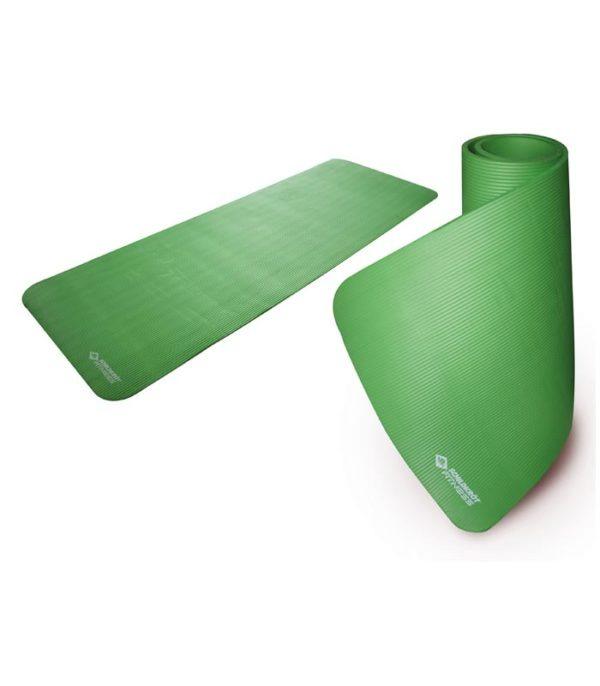 SCHILDKROT Στρώμα Γυμναστικής Mat Πράσινο 15MM