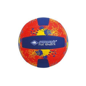SCHILDKROT Neoprene Beach Volleyball Μπάλα Μπλε/Κόκκινη