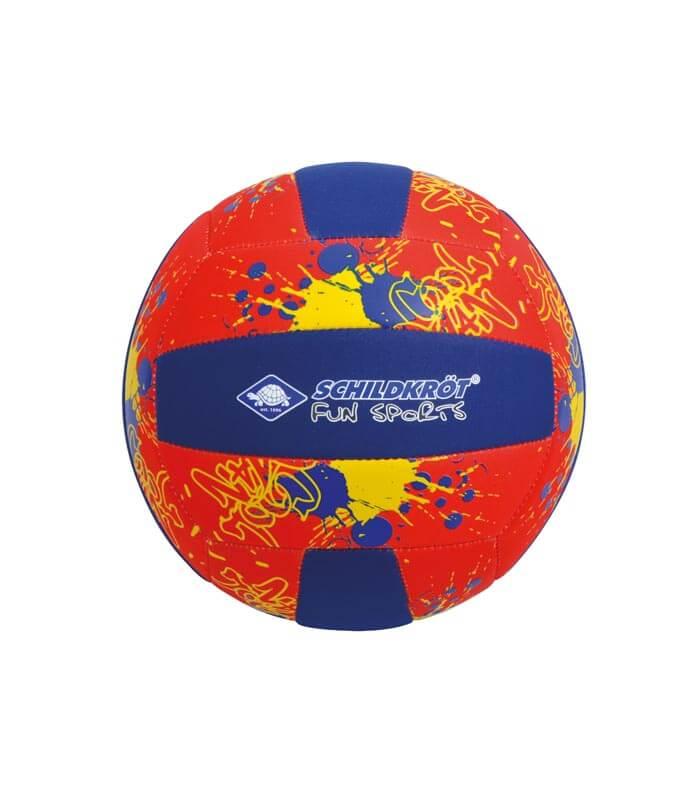 Μπάλα Beach Volleyball Neoprene SCHILDKROT Μπλε/Κόκκινη