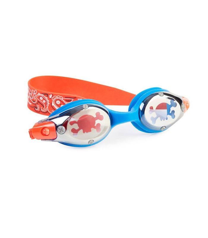 Παιδικά Γυαλάκια Κολύμβησης Bling2O Πειρατές Μπλε/Κόκκινο