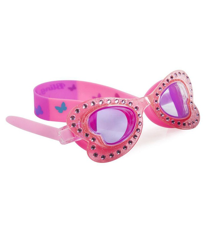 Παιδικά Γυαλάκια Κολύμβησης Bling2O Πεταλούδα Ροζ