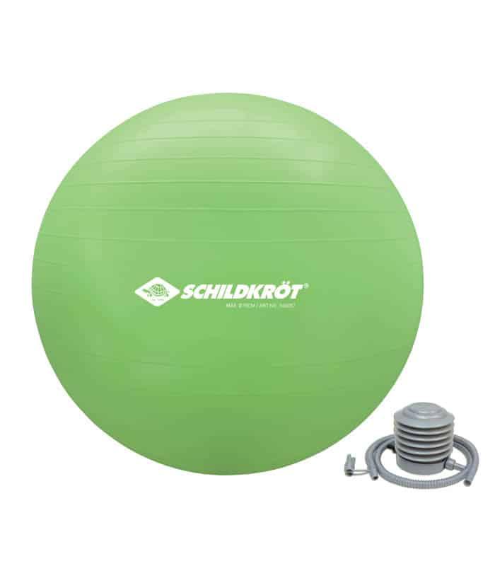 Μπάλα Γυμναστικής με τρόμπα 75cm SCHILDKROT Gym Ball
