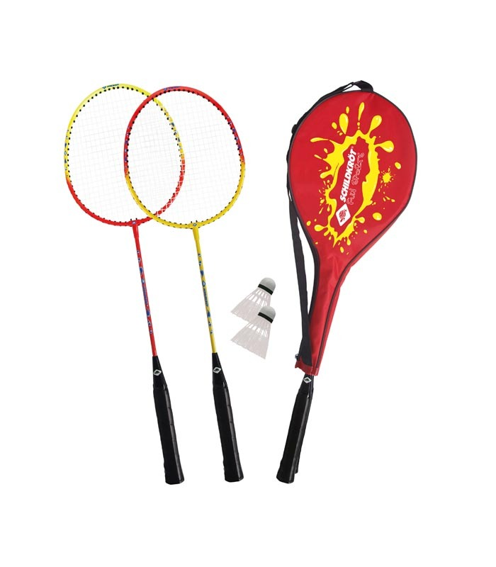 Σετ Badminton 2 Παικτών Ρακέτες/Φτερά SCHILDKROT