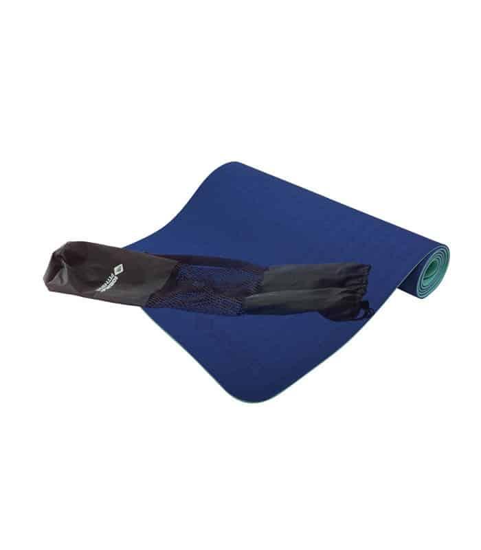 Στρώμα Yoga Mat Διχρωματικό Σκούρο Μπλε SCHILDKROT