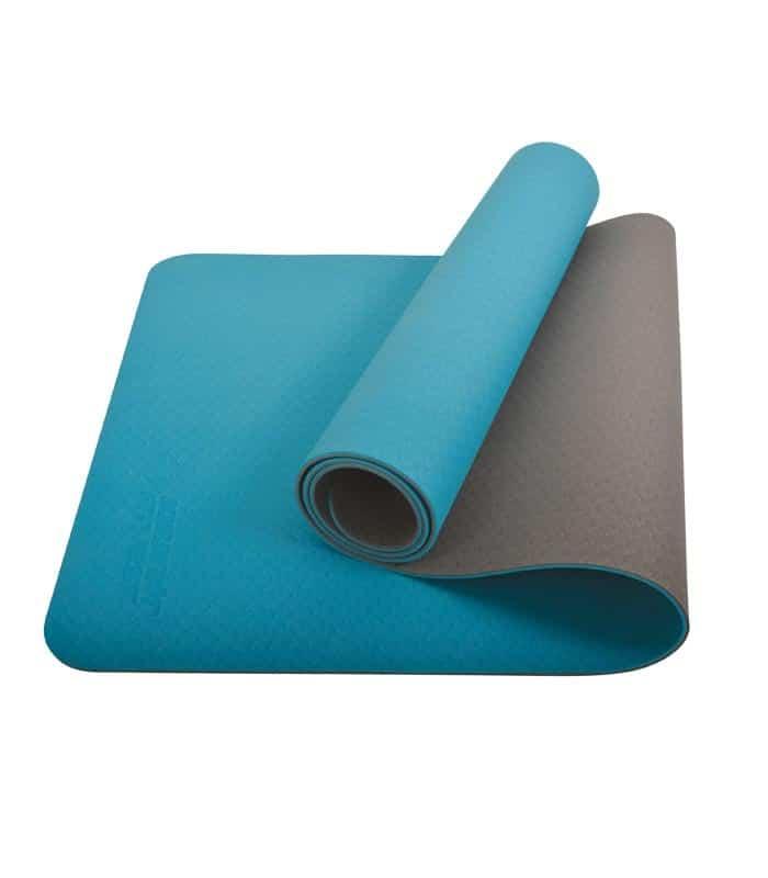 Στρώμα Yoga Mat Διχρωματικό Πετρόλ/Ανθρακί SCHILDKROT
