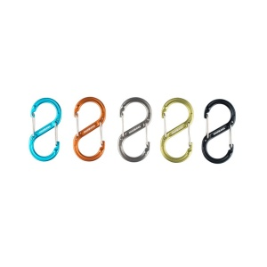 """Κρίκος Καραμπινέρ Σχήμα """"S"""" Διπλός Munkees 3275"""
