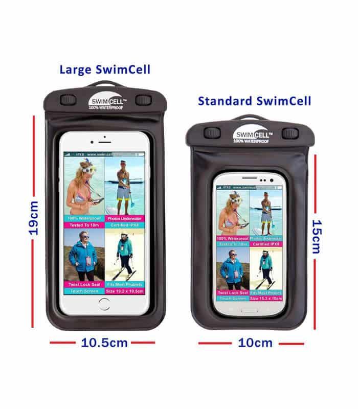 Swimcell 100% Αδιάβροχη Θήκη Τηλεφώνου Μεγάλη