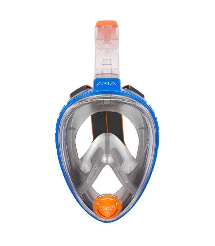 Μάσκα Θαλάσσης Fullface Ocean Reef Aria Classic Μπλε