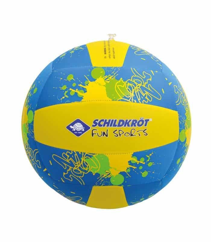 Μπάλα Παραλίας Μεγάλη Ø35cm SCHILDKROT Μπλε/Κίτρινη