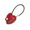 Κλειδαριά Καλώδιο Σχήμα Καρδιά Με Κωδικό 3606
