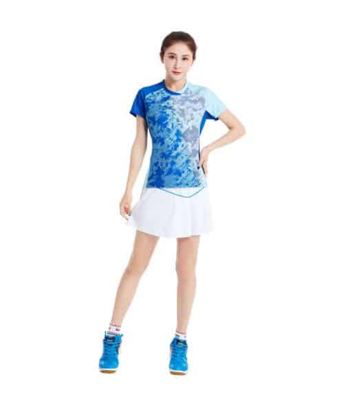 Αθλητικό Γυναικείο Μπλουζάκι Kumpoo KW-9203 Μπλε