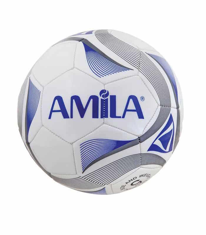 Μπάλα Ποδοσφαίρου #5 AMILA TPU-EVA 2mm Άσπρη