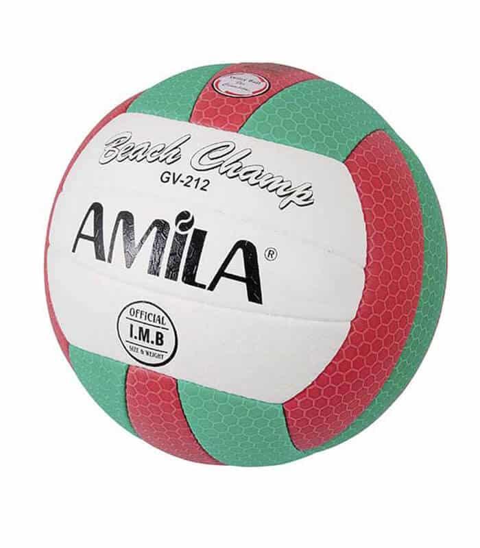 Μπάλα Volley Νο. 5 Παραλίας GV211 PU AMILA Τρίχρωμη