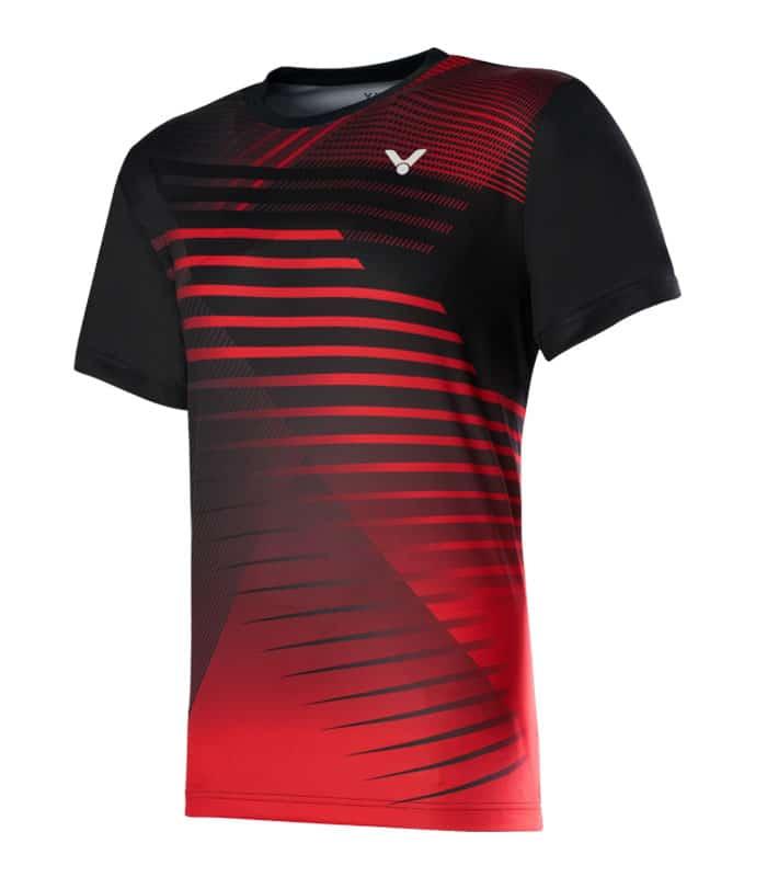 Αθλητικό Μπλουζάκι Unisex VICTOR Τ-00001TD C Μαύρο