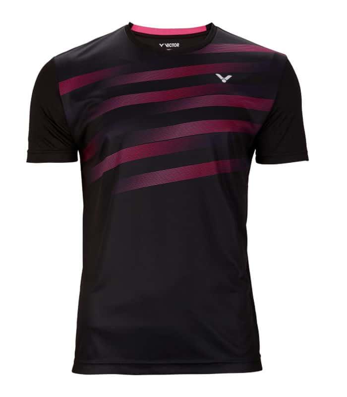 Αθλητικό Μπλουζάκι Unisex VICTOR Τ-03101 C Μαύρο