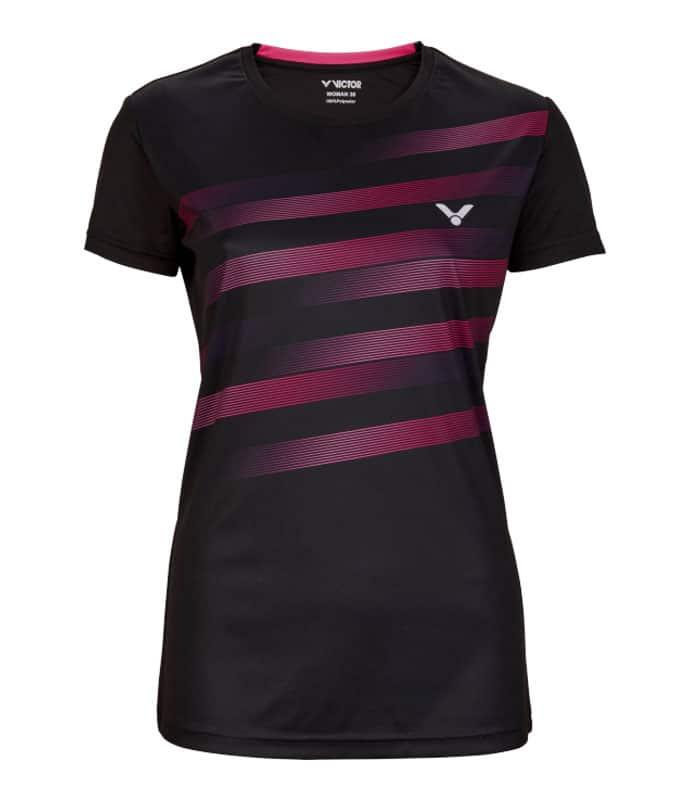 Αθλητικό Γυναικείο Μπλουζάκι VICTOR Τ-04101 C Μαύρο