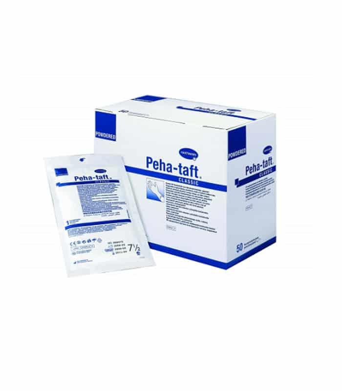 Γάντια Latex Αποστειρωμένα PEHA-TAFT CLASSIC Ζευγάρι Νο 7