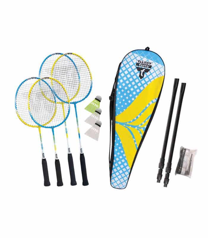 Σετ Badminton TALBOT TORRO Οικογενειακό Ρακέτες/Φτερά/Φιλέ