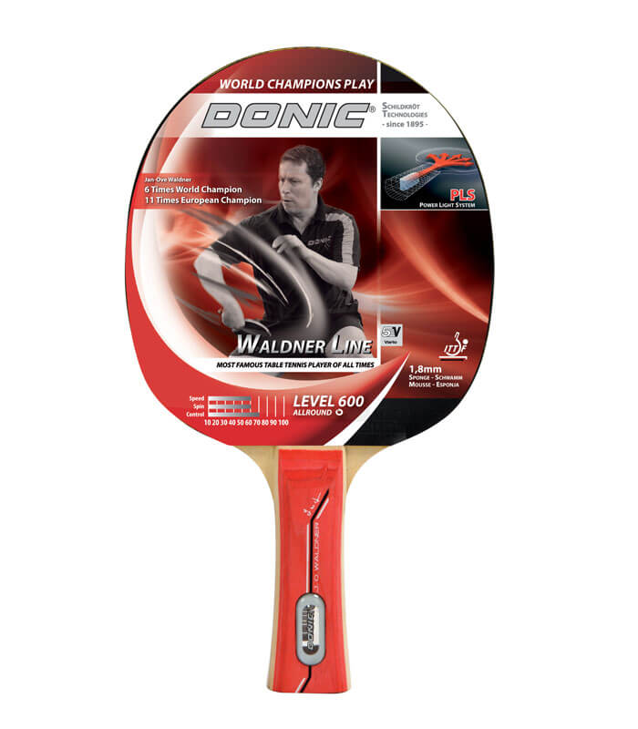 DONIC Ρακέτα Ping Pong Waldner Level 600