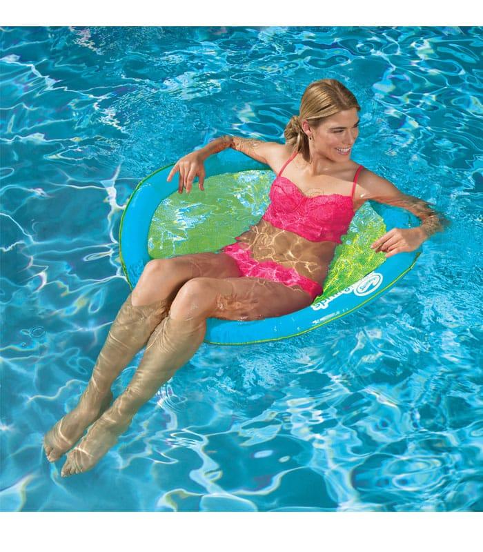 SwimWays Φουσκωτό Κάθισμα Θαλάσσης με Δίχτυ