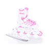Rollers/Ice Skates 2 σε 1 Πατίνια CLIPS DUO GIRLS Άσπρο/Ροζ