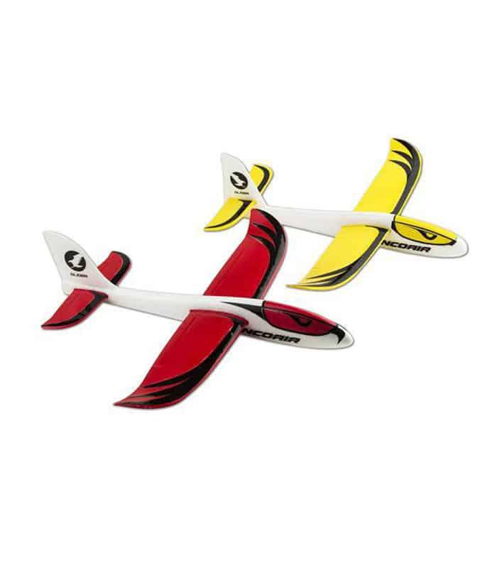 Πλαστικό Αεροπλανάκι NINCO Air Glider Κόκκινο/Κίτρινο