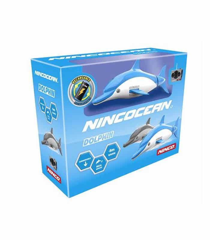 Τηλεκατευθυνόμενο Δελφίνι Κατάδυσης NINCO Μπλε/Γκρι