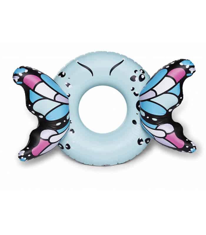 Φουσκωτό Σωσίβιο Πεταλούδα 101x140x53cm BIGMOUTH Μπλε