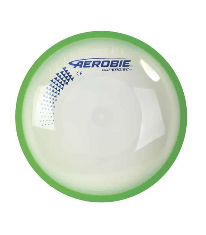 Δίσκος Frisbee Aerobie Superdisc 25cm Χρώμα Πράσινο