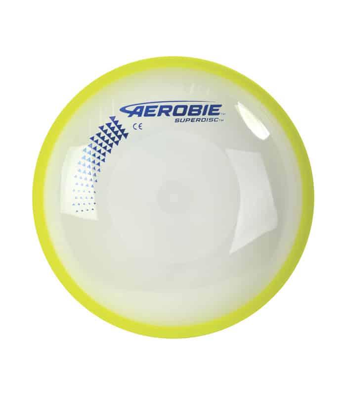 Δίσκος Frisbee Aerobie Superdisc 25cm Χρώμα Κίτρινο