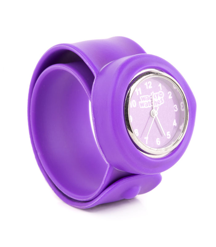 Παιδικό Ρολόι SLAP 3D Μωβ Wacky Watches