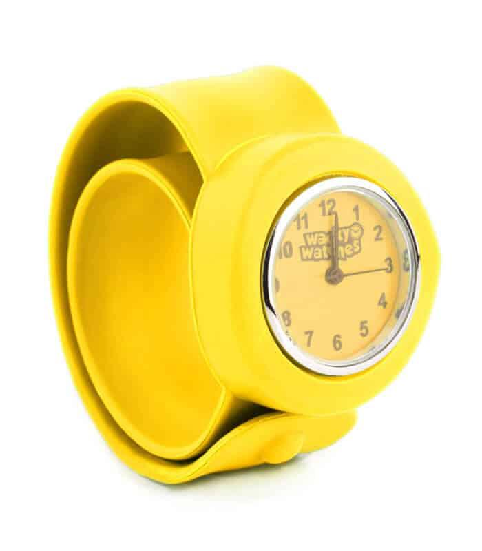 Παιδικό Ρολόι SLAP 3D Κίτρινο Wacky Watches