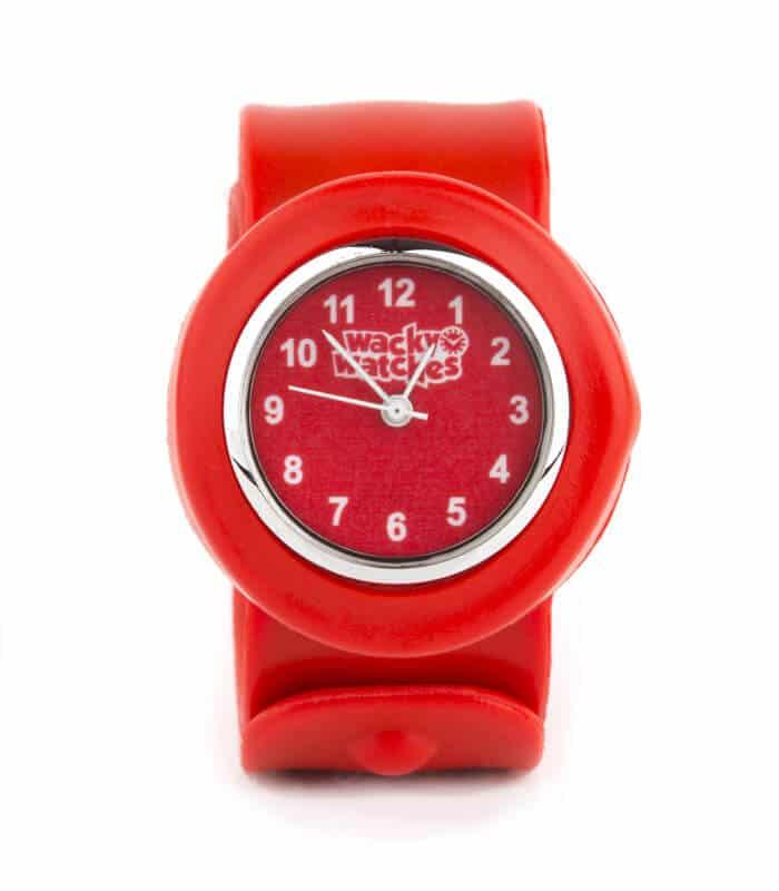 Παιδικό Ρολόι SLAP 3D Κόκκινο Wacky Watches