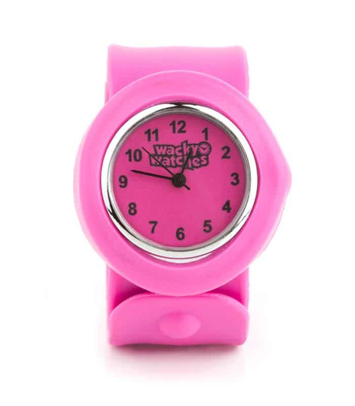 Παιδικό Ρολόι SLAP 3D Ροζ Wacky Watches