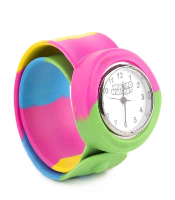 Παιδικό Ρολόι SLAP 3D Πολύχρωμο Wacky Watches