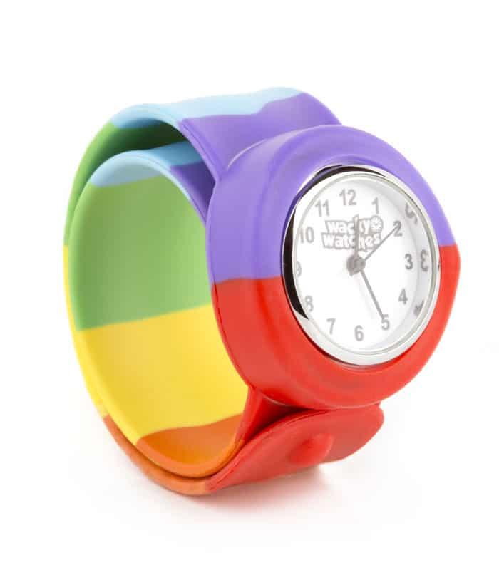 Παιδικό Ρολόι SLAP 3D Ουράνιο Τόξο Wacky Watches