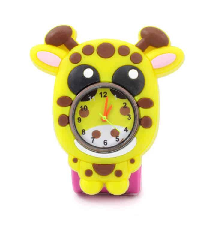 Παιδικό Ρολόι SLAP 3D Καμηλοπάρδαλη Wacky Watches