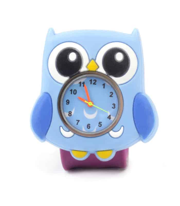 Παιδικό Ρολόι SLAP 3D Κουκουβάγια Wacky Watches