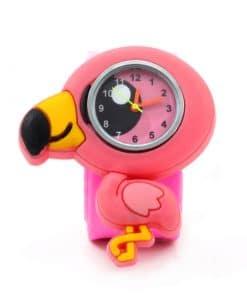 Παιδικό Ρολόι SLAP 3D Φλαμίνγκο Wacky Watches