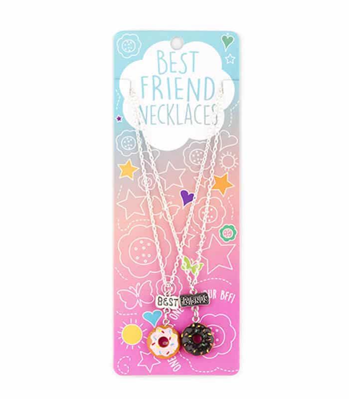 Κρεμαστό Διπλό Κολιέ Ντόνατς Best Friends
