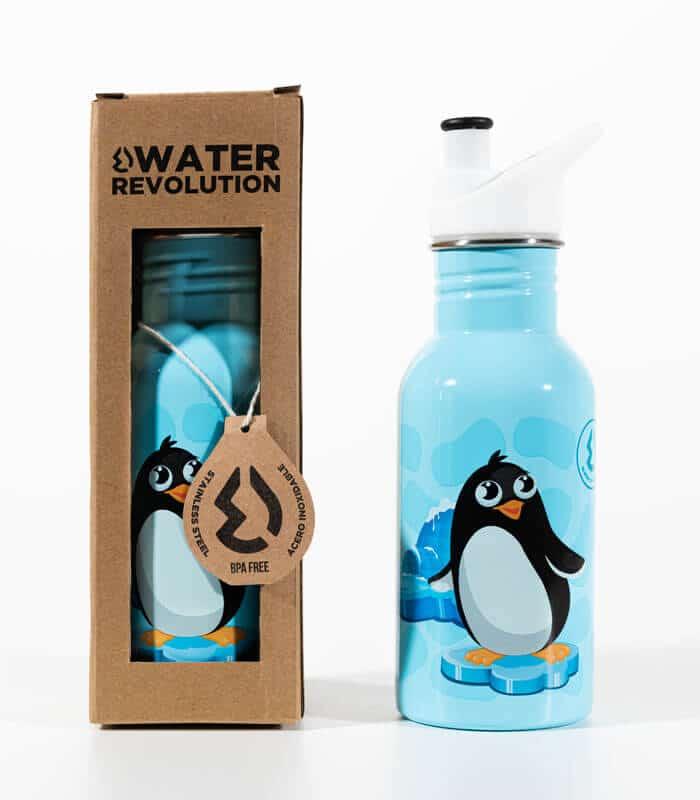 Παιδικό Παγουρίνο 500ml Water Revolution Πιγκουίνος