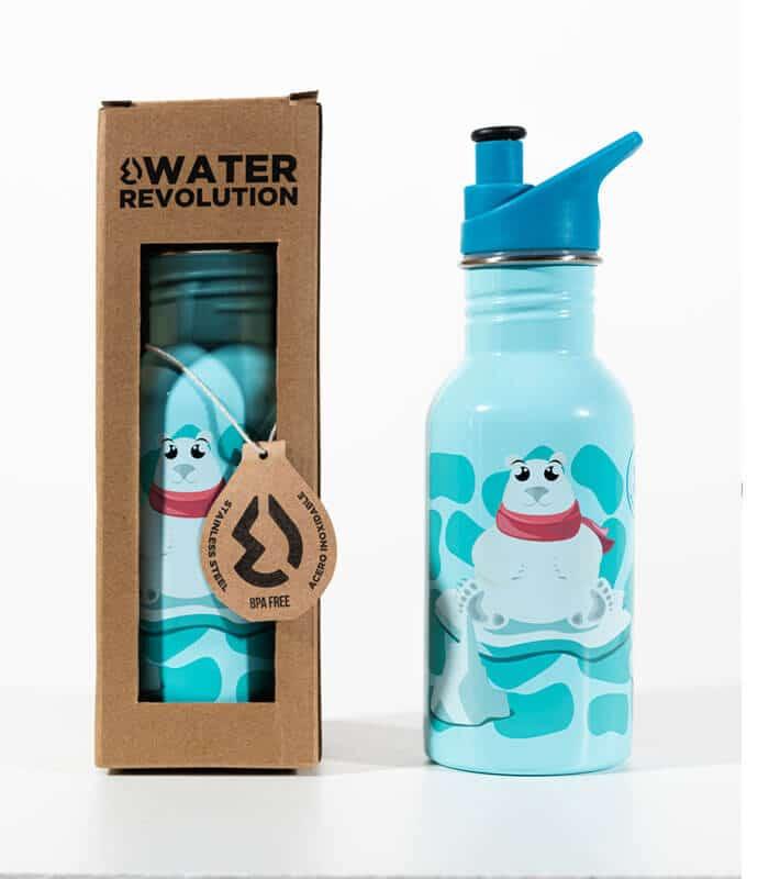 Παιδικό Παγουρίνο 500ml Water Revolution Πολική Αρκούδα