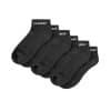 Αθλητικές Κάλτσες Κοντές FORZA Comfort Μαύρες (3 ζευγάρια)