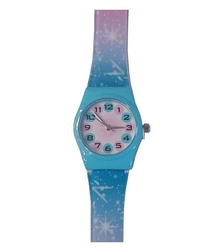 Ρολόι Χειρός Παιδικό Πολύχρωμο Αστέρια