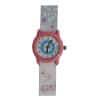 Ρολόι Χειρός Παιδικό Κύκνος - Λουλούδι Γαλάζιο / Ροζ
