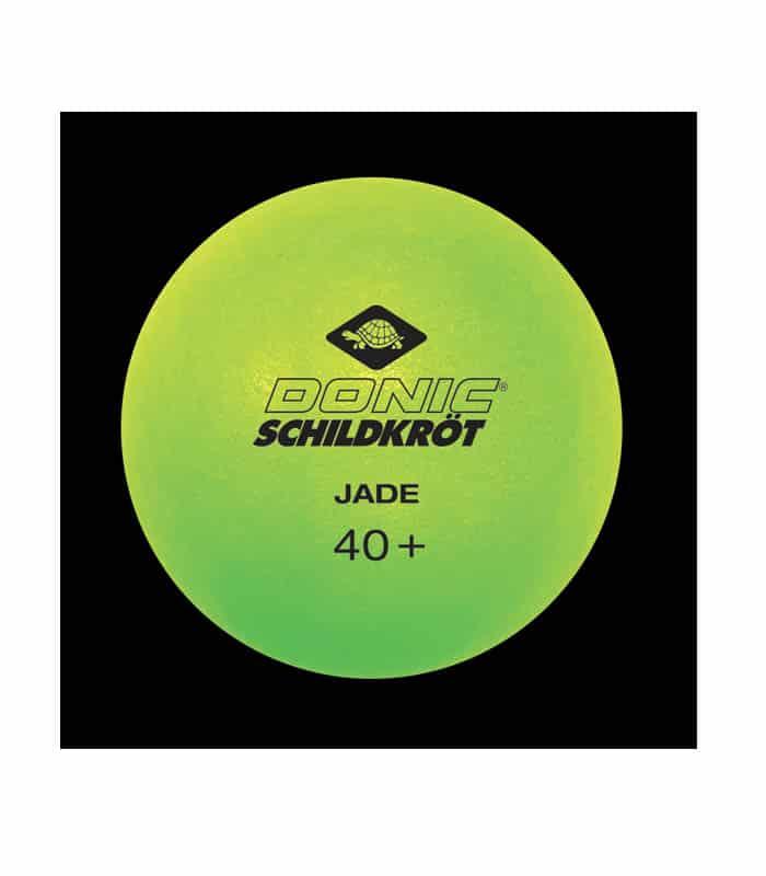 DONIC Μπαλάκια Ping Pong Jade 40+ x 6 Φωσφοριζέ Πράσινα